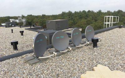 GSO installatie 4 satelliet posities